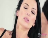 Ruby Belle 3way With Her Mature Stepmom Shalina Levine - scene 6