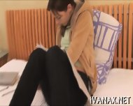 Pigtailed Gal Fingers Snatch - scene 7