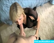Dicksucking Milf Shares Cock With Teen - scene 3