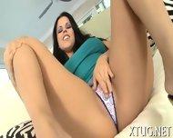 Titfuck Gets Mixed With Handjob - scene 2