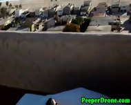 Rooftop Sex Filmed By Drone - scene 6