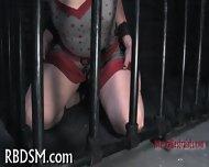 Caged Up Beauty Needs Punishment - scene 3