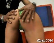 Naughty Girl Loves Black - scene 4