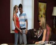 Explosive Threesome Coitus - scene 5