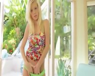 Petite Russian Brunet Shows Her Body - scene 2