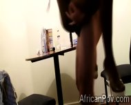 Sexy African Gf Blows And Mounts For Her Mans Homemade Video - scene 12