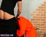 Bisexual Prisoners Sucked - scene 7
