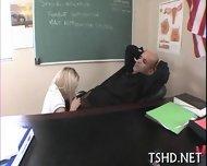 Teacher Shafts Student - scene 12