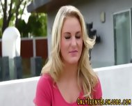 Blonde Teenie Swallows - scene 1