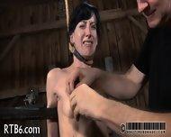 Brutal Beating Of Babe S Bottom - scene 5
