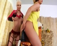 Brutal Bum Threesome With Cowboy - scene 2