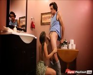 Teen Jade Nile Plays Naughty With Lover While Mom Is Away - scene 5