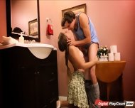 Teen Jade Nile Plays Naughty With Lover While Mom Is Away - scene 6