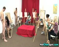 Clothed Babes Blow Dick - scene 2