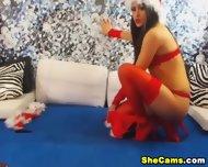 Masturbating Young Shemale Webcam - scene 3