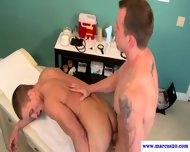 Well Built Straight Being Anally Pounded - scene 2