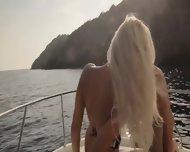 Luxury Art Banging On The Yacht - scene 3