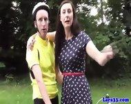 Euro English Milf In Stockings Anal Fuck - scene 1