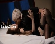 Girlsongirls Having Sex In Front Of Mirror - scene 1