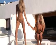 Two Fairhair Angels In High Heels - scene 5