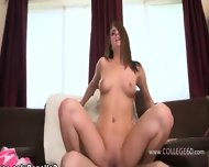 The Juicy Nymph Penetrated On College - scene 10