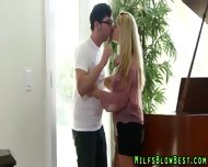 Big Tit Swallowing Cougar - scene 3