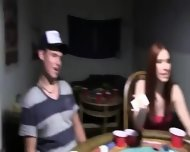 Young Teenagers Fucking On Poker Night - scene 2