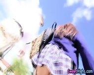Uniformed Spex Teen Blows - scene 5