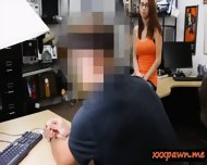 Big Tits Chick Trades Her Pussy In The Pawnshop For A Ring - scene 3