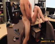 Blonde Slut Fucked After Selling Her Car At The Pawnshop - scene 8