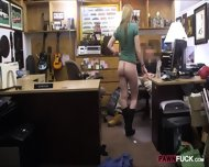 Cute Amateur Chick Banged For A Necklace At The Pawnshop - scene 7