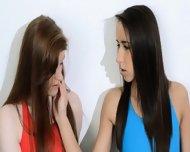 Hairy Lesbians In Nylon Panties Loving - scene 2