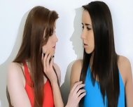 Hairy Lesbians In Nylon Panties Loving - scene 3