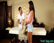 Sexy Teen Babe Massage - scene 1
