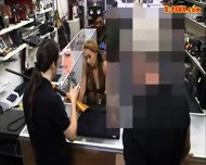 Big Tits Amateur Tattooed Slut Sells Her Stuff And Nailed - scene 2