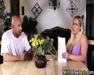 Tit Fucked Milf Sucks Rod - scene 2