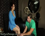 Massage Babe Spunked On - scene 1