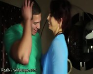Massage Babe Spunked On - scene 12