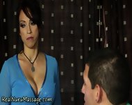 Massage Babe Spunked On - scene 2