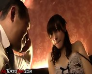 Japanese Whore Swallows - scene 2