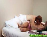 Hairy Lesbians Rub Tits - scene 9