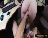 Hot Blonde Shows Off Her Ass For A Necklace And Money - scene 9