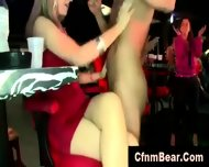Amateur Party Girls Get Tits Out For Cfnm Stripper - scene 9