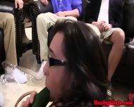 Hazed Coed Teen Eat Muff And Dildo Fun - scene 2
