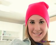 Teen Tysen Rich Touches Herself And Gets Fingered - scene 10