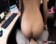 College Girl In Glasses Pussy Banged To Earn Extra Money - scene 9