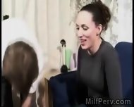 Young Perv Gets Lucky With A Beautiful Brunette Housewife - scene 6