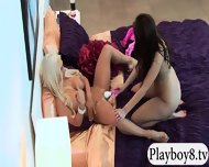 Badass Babes With Single Men Having Fun In Playboy Mansion - scene 9