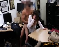 Foxy Business Lady Got Her Pussy Drilled For Plane Ticket - scene 10