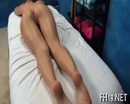 Igniting A Lovely Shaved Cunt - scene 8